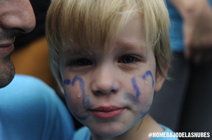 Foto: Pablo Sanjurjo. Los niños son lo primero. 6J-2014 concentración frente Consejería de educación de Madrid